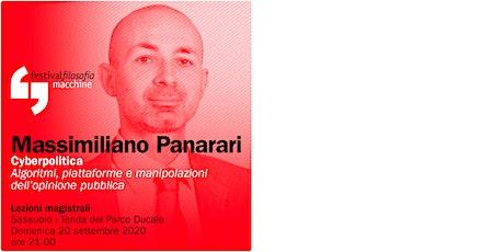 ff20 | PANARARI | Sassuolo, Tenda del Parco Ducale biglietti