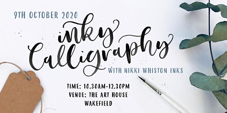 Beginner Modern Calligraphy Workshop - INK AND BRUSH tickets