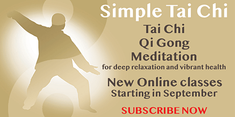 Online Tai Chi tickets