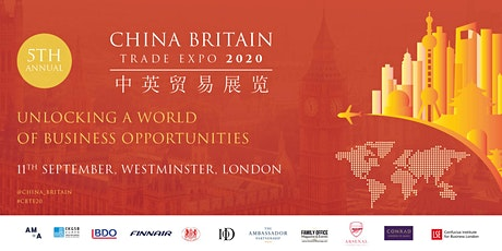 China Britain Trade Expo 2020 tickets