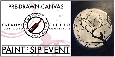 Paint & Sip | Moon Cat tickets