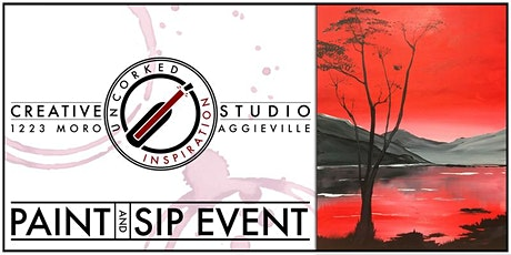 Paint & Sip   Red at Night tickets