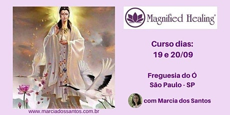 Curso de Magnified Healing® ingressos