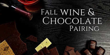 Fall Wine and Chocolate Pairing (Virtual) tickets