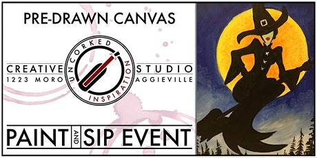 Paint & Sip   Halloween Witch tickets