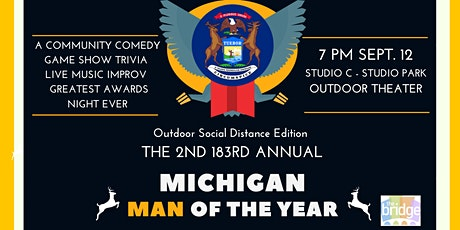 Michigan Man of the Year:  a comedy awards game show TIME CHANGE tickets