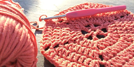Crochet for Beginners 'Zoom' Online Class tickets