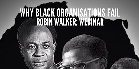 Why Black Organisations Fail (Online Lecture - Robin Walker)