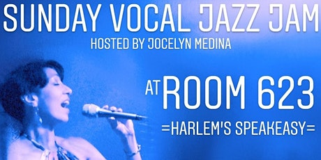 "Sunday ""VIRTUAL"" Vocal Jazz Jam at ROOM 623 (from home!) tickets"