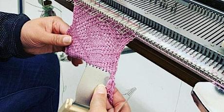 Machine Knitting- Advance Level 'Zoom' Online Class tickets