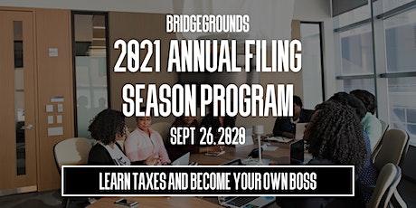 2021 Annual Filing Season Program tickets