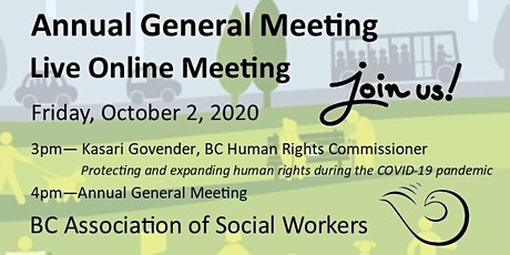 BC Association of Social Workers - Annual General Meeting tickets
