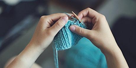 Hand Knitting - Beginner's Level 'Zoom' Online Class entradas