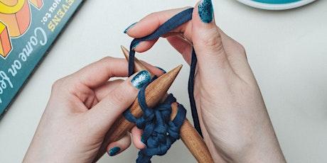 Aula de tricô -  Improver's Hand Knitting Online Class entradas