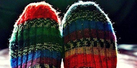 Calzini Lavorati a Mano - Learn to Knit Socks! 'Zoom' Online Class entradas