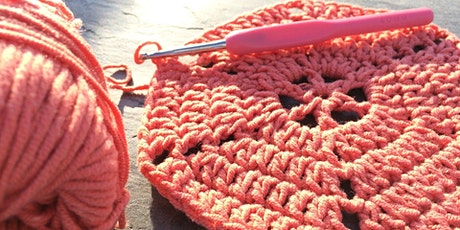Curso de Tricô - Crochet for Beginners 'Zoom' Online Class tickets