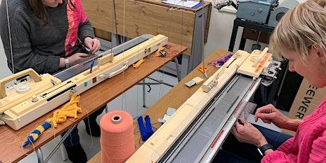 Machine Knitting- Beginner's Level 'Zoom' Online Class entradas