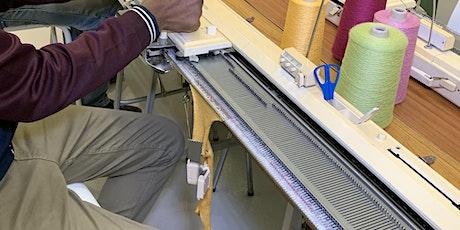 Clases de Tejer -Machine Knitting Intermediate -Level 'Zoom' Online Class entradas