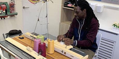 Machine Knitting- Punch Card 'Zoom' Online Class entradas