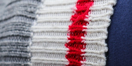 Machine Knitting- Learn to use a Ribber Attachment  'Zoom' Online Class entradas