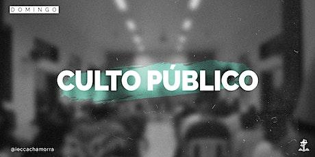 CULTO PÚBLICO // DOMINGO ingressos