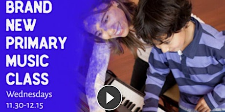 Primary Multi-instrumental Music Classes online during COVID19 tickets