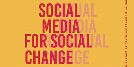 Social Media for Socia Change tickets