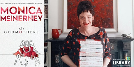 Monica McInerney  Online Author Talk - Port Stephens Library tickets