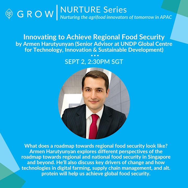 Innovating to Achieve Regional Food Security (UNDP)| NURTURE Series by GROW image