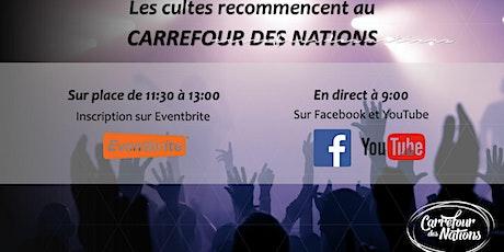 Cultes et célébrations au Carrefour des Nations billets