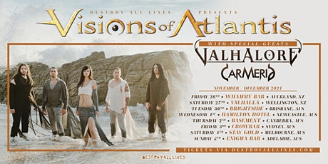 Visions Of Atlantis Australia/New Zealand 2021 tickets