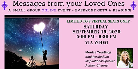 Online Small Group Mediumship Event: Everyone Gets  A Reading tickets