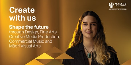 Design and Fine Arts Portfolio Reviews - Massey University Wellington tickets