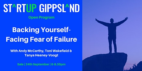 Backing Yourself - Facing Fear of Failure tickets