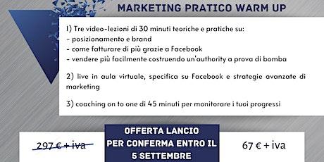 Marketing Pratico Warm Up biglietti