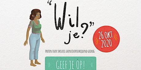 [Online] Masterclass GFHI Wil Je?! Praten over Seksueel Misbruik tickets