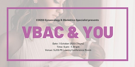 VBAC and You tickets