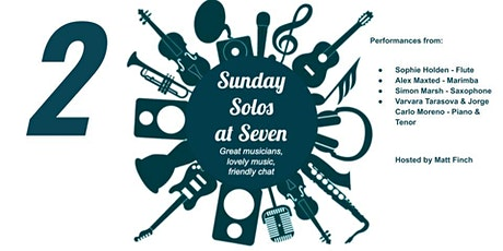 Sunday Solos At Seven (2) tickets