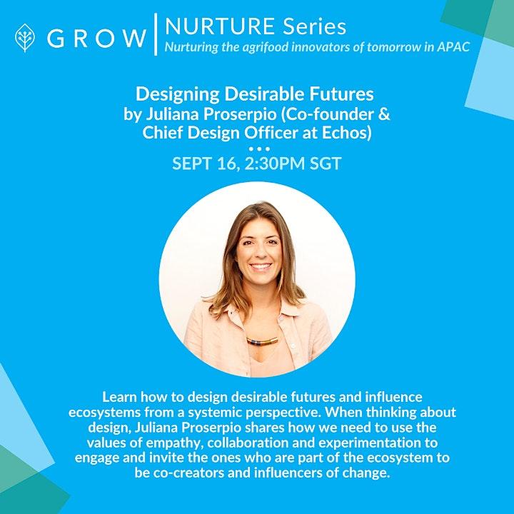 Designing Desirable Futures (Echos)   NURTURE Series by GROW image