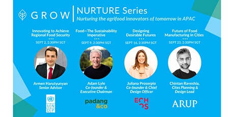Future of Food Manufacturing in Cities (Arup) | NURTURE Series by GROW tickets