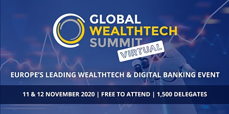 Global WealthTech Summit - Virtual tickets