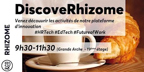 DiscoveRhizome - Nov 2020 billets