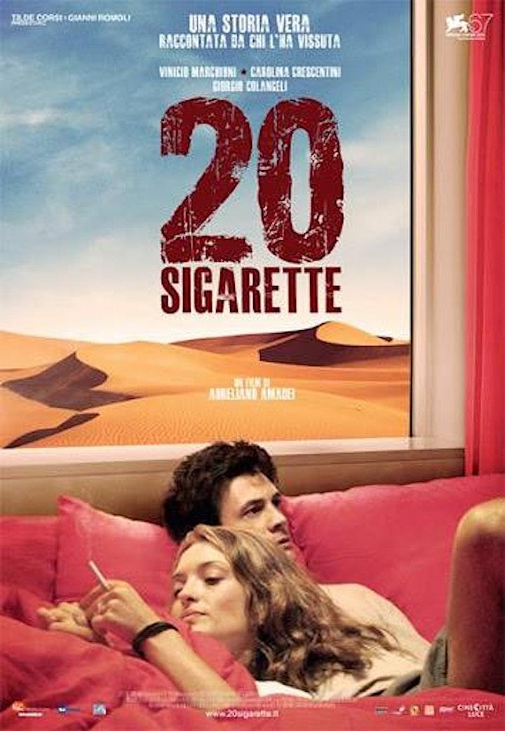 """Immagine Omaggio a Vinicio Marchioni: proiezione film """"20 sigarette"""""""