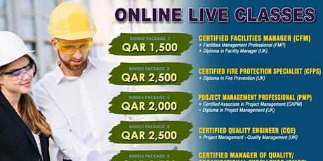 Free Certified Facility Manager (CFM) Webinar tickets
