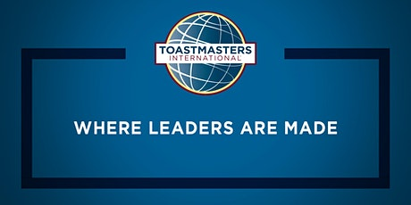 Virtual public speaking practice with Toastmasters Tickets