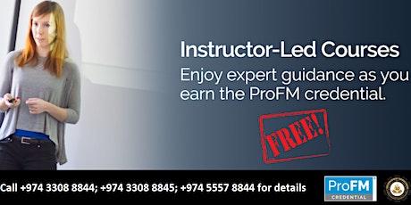 Free ProFM Instructor-led Webinar Training (DEMO CLASS) tickets