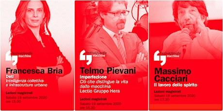 ff20 | BRIA - PIEVANI - CACCIARI | Modena, Piazza Grande biglietti