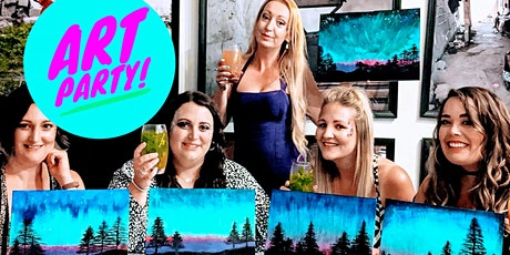 Adult Art Party: Guided painting art session- Bring your own alcohol tickets
