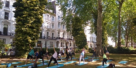 Yoga in Norfolk Square Gardens - Free Event tickets