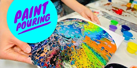 Paint pouring workshop tickets